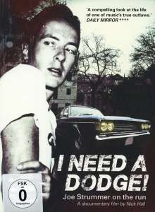 Joe Strummer: I Need A Dodge: Joe Strummer On The Run, DVD