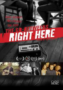 The Go-Betweens: Right Here, DVD