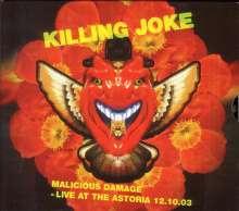 Killing Joke: Malicious Damage: Live At The Astoria 12.10.2003 (Red Vinyl), 2 LPs
