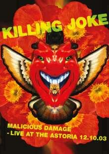 Killing Joke: Malicious Damage: Live At The Astoria 12.10.2003, DVD