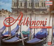 Albinoni / Banfalvi / Bartha: Concertos, 4 CDs