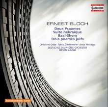 Ernest Bloch (1880-1959): Baal-Shem für Violine & Orchester, CD