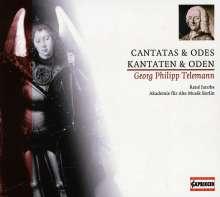 Georg Philipp Telemann (1681-1767): Kantaten & Oden, CD
