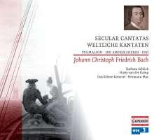 Johann Christoph Friedrich Bach (1732-1795): Weltliche Kantaten, CD