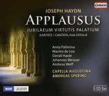 Joseph Haydn (1732-1809): Applausus (Jubiläumskantate), 2 CDs