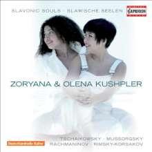 Zoryana Kushpler - Slawische Seelen, CD