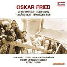 Oskar Fried (1871-1941): Die Auswanderer für Sprechstimme & Orchester, CD