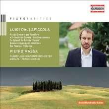 Luigi Dallapiccola (1904-1975): Piccolo Concerto per Muriel Couvreux, CD