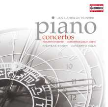 Johann Ludwig Dussek (1760-1812): Klavierkonzerte op.22 & op.49, CD