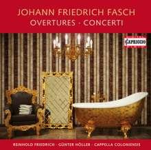 Johann Friedrich Fasch (1688-1758): Ouvertüren und Konzerte, CD