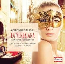 """Antonio Salieri (1750-1825): Symphonie D-Dur """"La Veneziana"""", CD"""