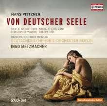 """Hans Pfitzner (1869-1949): Eichendorff-Kantate """"Von deutscher Seele"""" op.28, 2 CDs"""