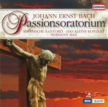 Johann Ernst Bach (1722-1777): Passionsoratorium, 2 CDs