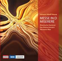 Johann Adolph Hasse (1699-1783): Messe in d, CD