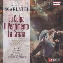 Alessandro Scarlatti (1660-1725): La Colpa il Pentimento la Grazia (Orat.), 2 CDs