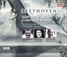 Ludwig van Beethoven (1770-1827): Sämtliche Lieder, 3 CDs