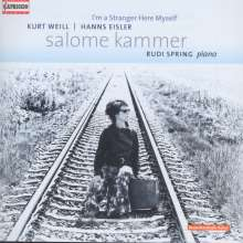 Salome Kammer - I'm a Stranger Here Myself, CD