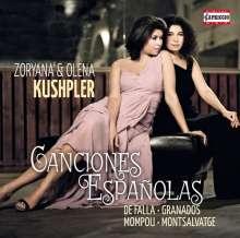 Zoryana Kushpler - Canciones Espanolas, CD