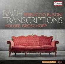 Ferruccio Busoni (1866-1924): Bach-Transkriptionen, 2 CDs