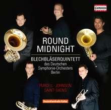 Blechbläserquintett des Deutschen Symphonie-Orchesters Berlin - Round Midnight, CD