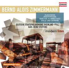 Bernd Alois Zimmermann (1918-1970): Alagoana (Caprichos Brasileiros - Ballett), CD