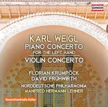 Karl Weigl (1881-1949): Klavierkonzert für die linke Hand Es-Dur, CD