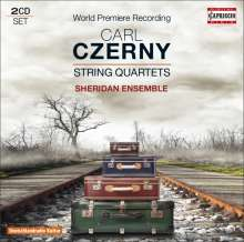 Carl Czerny (1791-1857): Streichquartette, 2 CDs