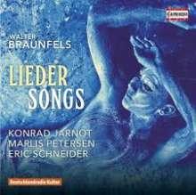 Walter Braunfels (1882-1954): Lieder, CD
