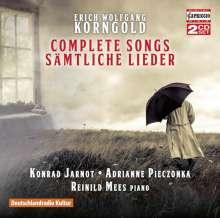 Erich Wolfgang Korngold (1897-1957): Sämtliche Lieder, 2 CDs