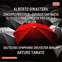 Alberto Ginastera (1916-1983): Konzert für Streichorchester, CD