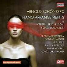 Arnold Schönberg (1874-1951): Transkriptionen für Klavier, 2 CDs