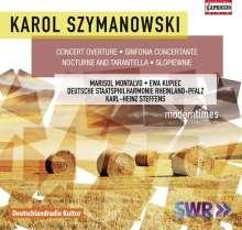 Karol Szymanowski (1882-1937): Symphonie Nr.4 für Klavier & Orchester, CD