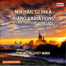 Michael Glinka (1804-1857): Variationen für Klavier, CD