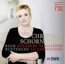 Christine Schornsheim - Bach / Buxtehude, 2 CDs