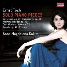 Ernst Toch (1887-1964): Klavierwerke, CD