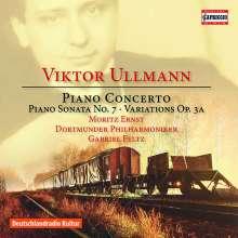 Viktor Ullmann (1898-1944): Klavierkonzert op.25, CD