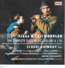 Franz (1821-1883) & Carl (1825-1900) Doppler: Kammermusik mit Flöte Vol.6, CD