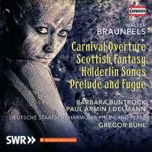 Walter Braunfels (1882-1954): Präludium & Fuge op.36 für Orchester, CD