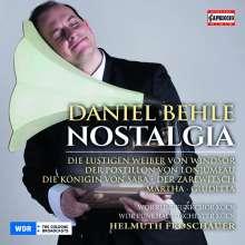 Daniel Behle - Nostalgia, CD