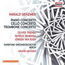 Harald Genzmer (1909-2007): Klavierkonzert Nr. 1 (1942), CD