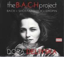 Dora Deliyska - The B-A-C-H Project, CD