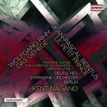 Wolfgang Rihm (geb. 1952): Das Gehege (Eine nächtliche Szene für Sopran & Orchester), CD