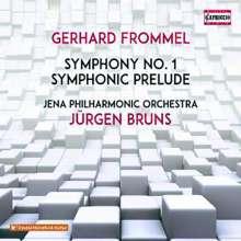 Gerhard Frommel (1906-1984): Symphonie Nr.1 E-Dur op.13, CD