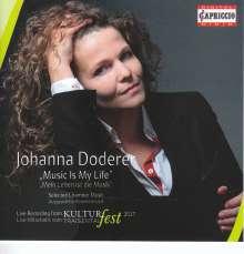 "Johanna Doderer (geb. 1969): Kammermusik ""Music Is My Life"", CD"