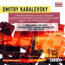 Dimitri Kabalewsky (1904-1987): Violinkonzert op.48, CD