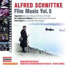 Alfred Schnittke (1934-1998): Filmmusik Edition Vol.5, CD