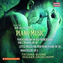 Walter Braunfels (1882-1954): Klavierwerke, CD