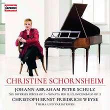 Johann Abraham Peter Schulz (1747-1800): Klavierwerke, CD