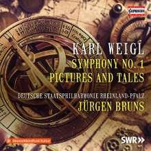Karl Weigl (1881-1949): Symphonie Nr.1 E-Dur op.5, CD