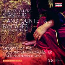 Charles Villiers Stanford (1852-1924): Klavierquintett d-moll op.25, CD